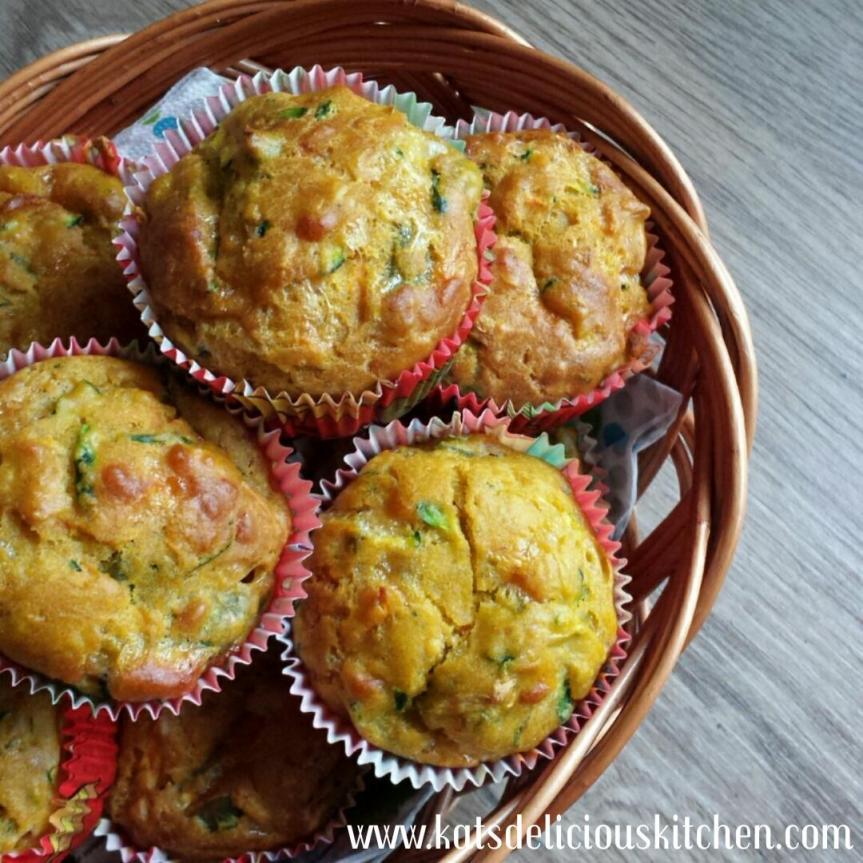 Kiddy Vegetable Quiche Cupcake[6m+]