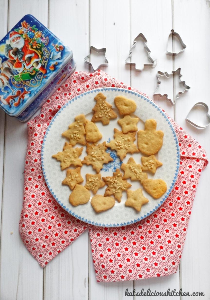 Butter Cookies / Butter Plätzchen