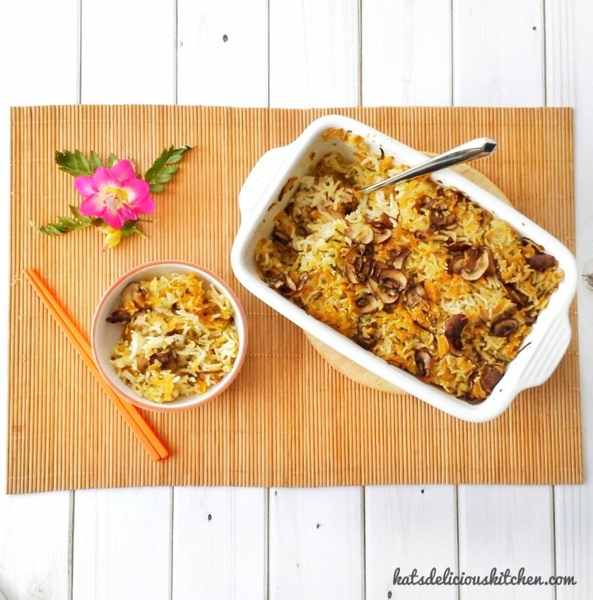 Vegan One Pot Vegetables Rice