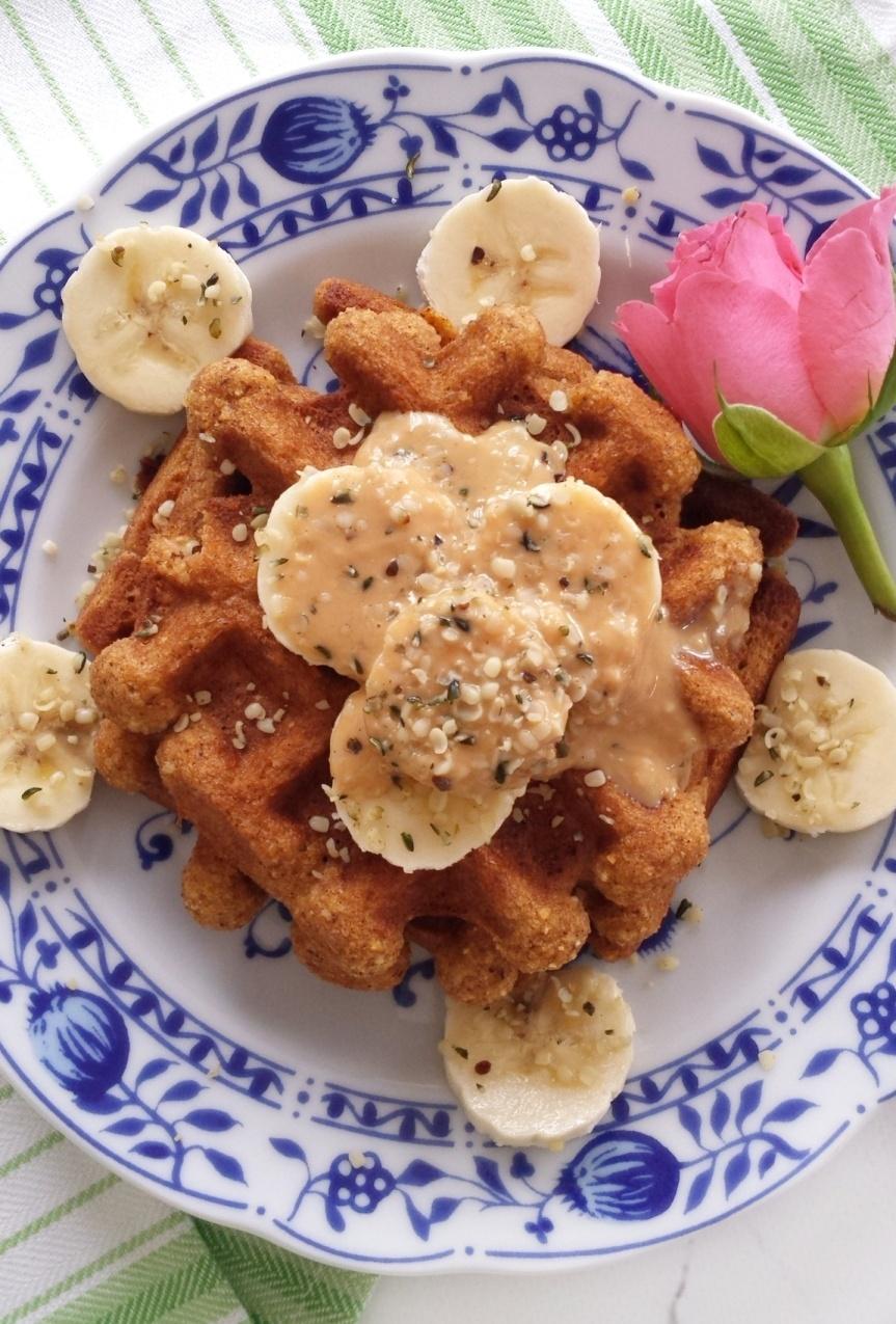 Paleo Sweet PotatoWaffles