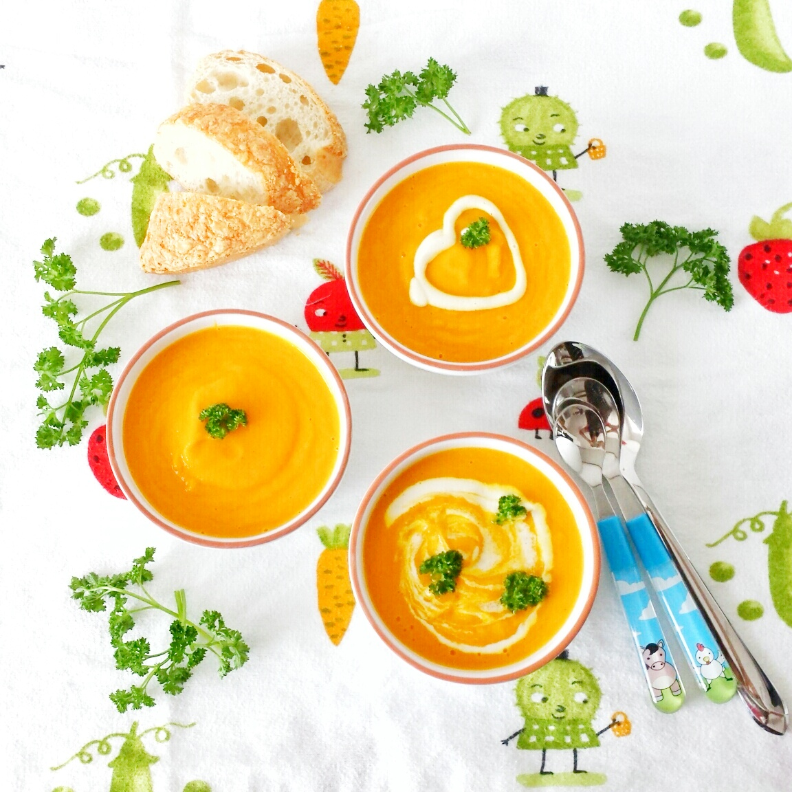 Carrot-tumeric-puree