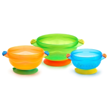 01107503 3 Stay Put Suction Bowls-LC1