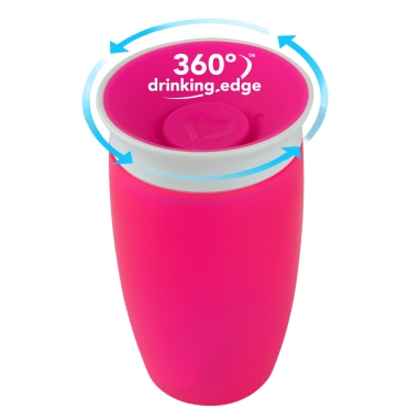 012096 Miracle Sippy Cup 360 Pink-LC3.jpg