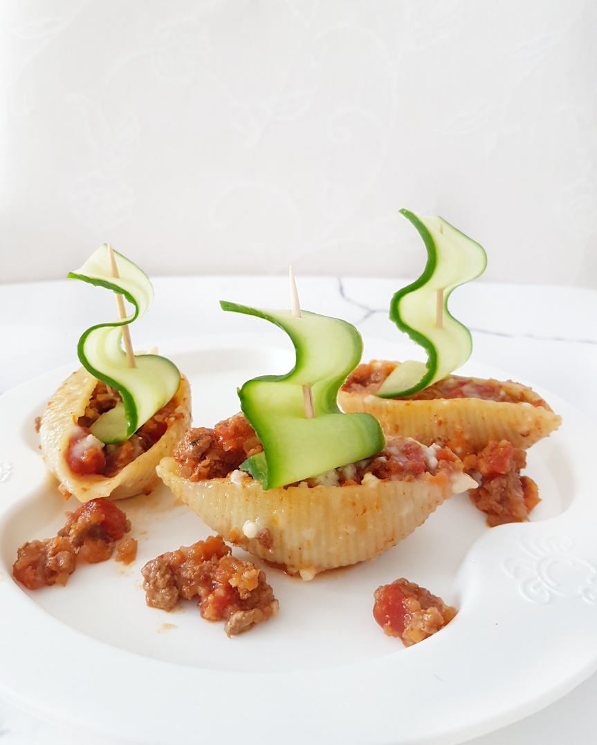 Bolognese Pasta Boats